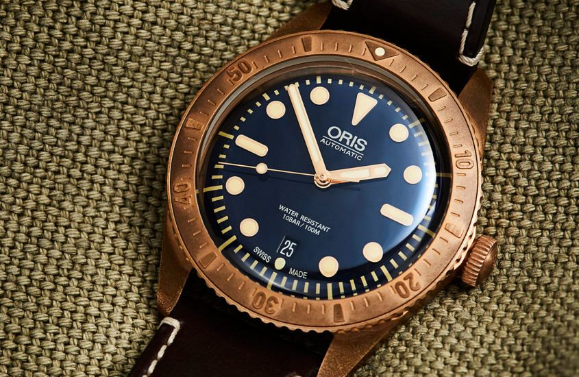 990582a9581 Replica Bronze beauty – the High Quality Replica Oris Carl Brashear ...