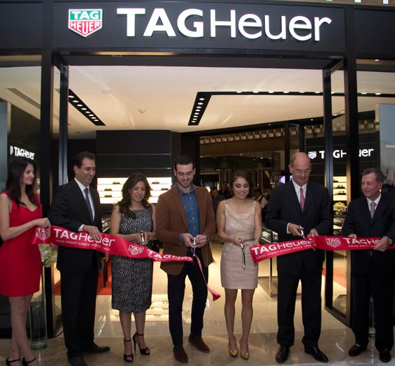 Tag Heuer Opens its New Flagship Store at Palacio Del Hierro Luxury Mall in Polanco