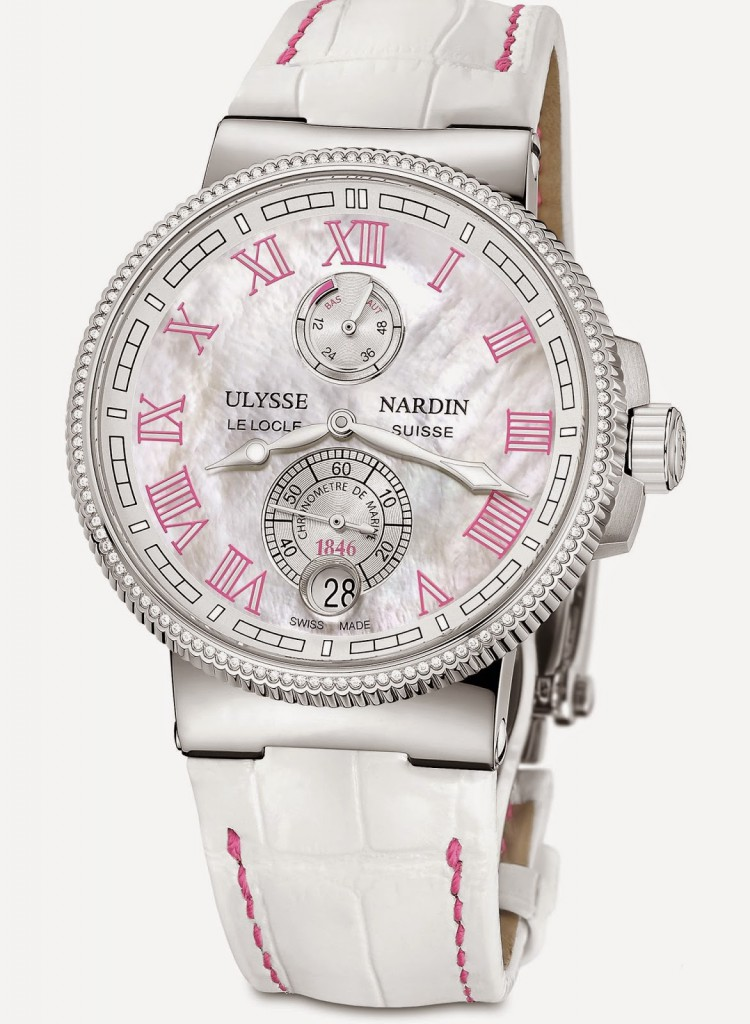 Replica Ulysse Nardin Marine Chronometer Manufacture Ladies With State Of The Art Technology