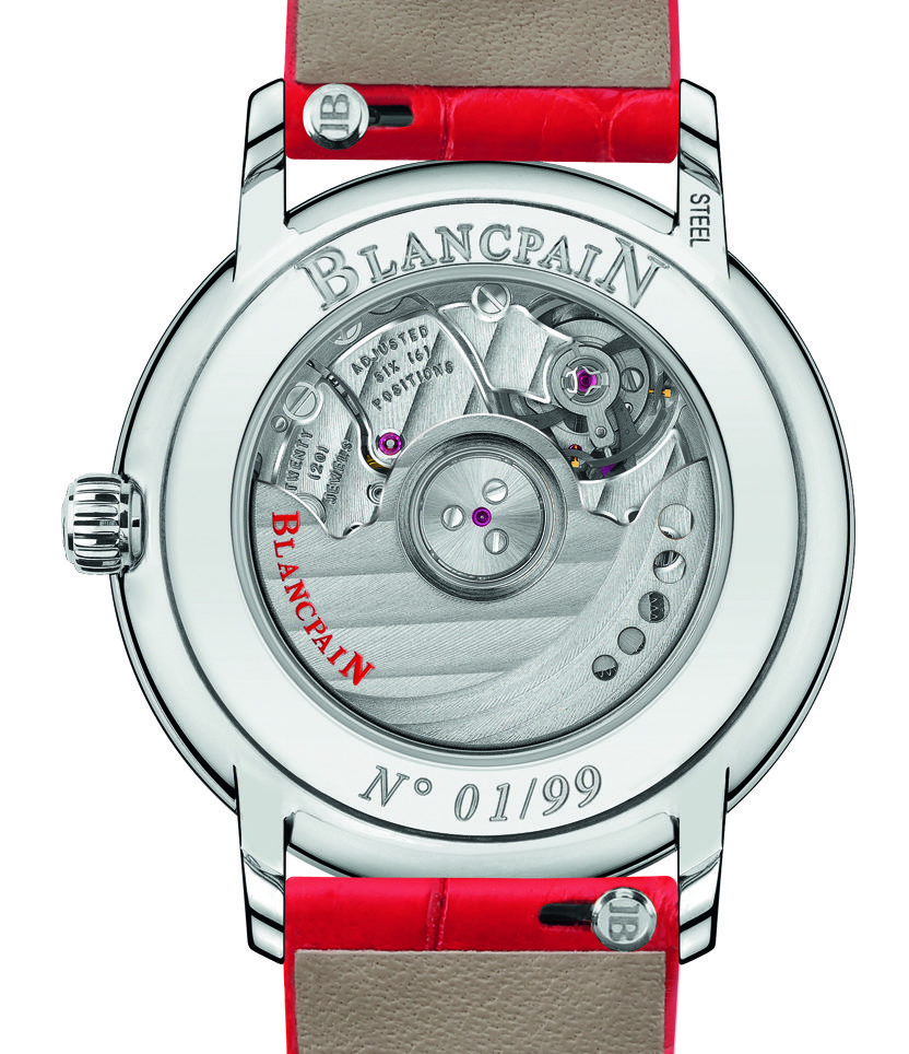 Blancpain St. Valentine's Day Special Edition Watch For The Ladies In Your Life Watch Releases