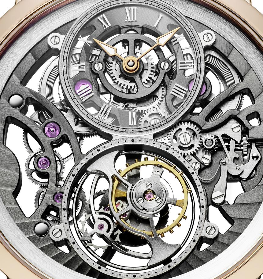 Arnold & Son UTTE Skeleton Watch Is Thinnest Skeleton Tourbillon Watch Releases